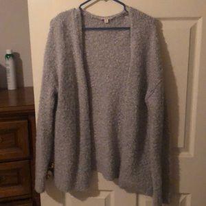 Grey M/L Gap cardigan
